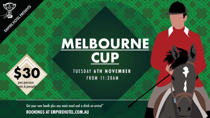 Melbourne Cup Empire Hotel
