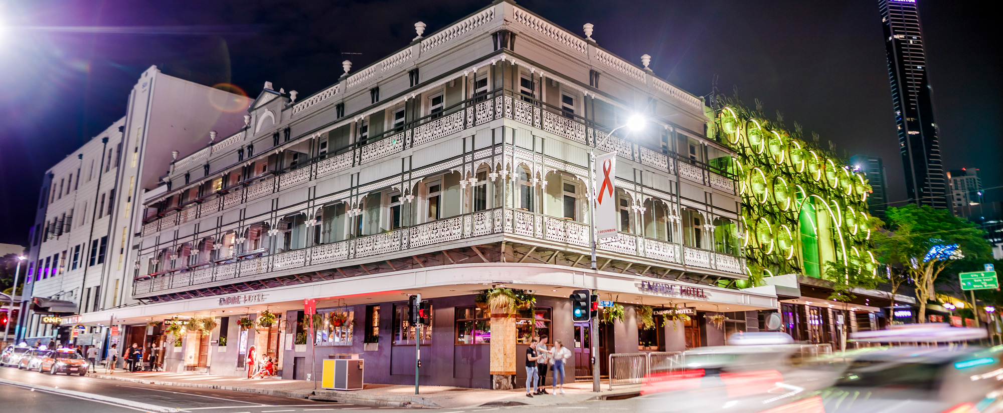 Empire Hotel Fortitude Valley, Brisbane Exterior